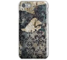 Torn and Stained Vintage Wallpaper iPhone Case/Skin