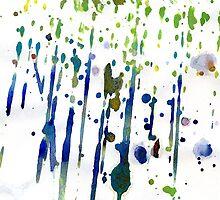 Colorful Watercolor Splatters by pjwuebker