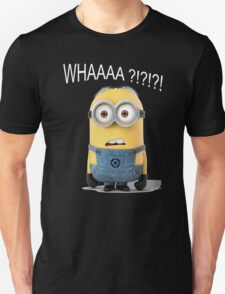 Minion WHAAAA T-Shirt