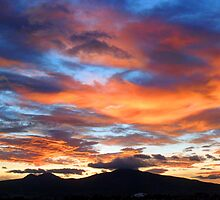 ©HCS Twilight Over Red and Blue I by OmarHernandez