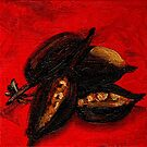 Seed Study in Red by KeLu