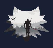 White wolf One Piece - Short Sleeve