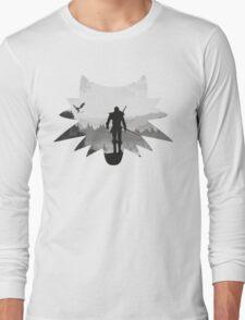 White wolf Long Sleeve T-Shirt
