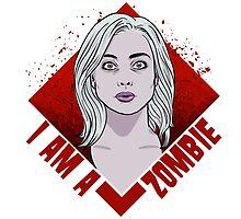 Zombie Portrait by BovaArt
