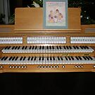 Sing With Me! Organ Console by kathrynsgallery