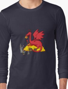 Chillin with Smaug Long Sleeve T-Shirt