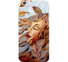 Yellow Leaves and Gossamer iPhone Case/Skin