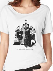 The Addams Family  Women's Relaxed Fit T-Shirt