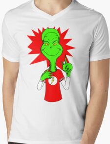 Bazingrinch Mens V-Neck T-Shirt