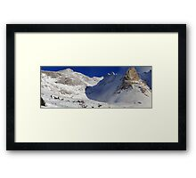 Highwood valley (panorama) Framed Print