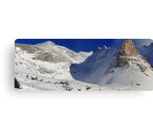 Highwood valley (panorama) Canvas Print