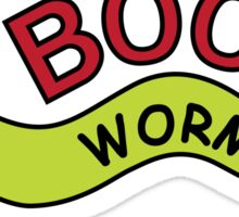 Book Worm Sticker
