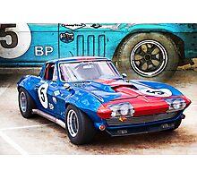 1965 Corvette Front Photographic Print