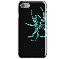 Neon Arachnophobia  iPhone Case/Skin