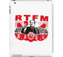 Mao RTFM iPad Case/Skin