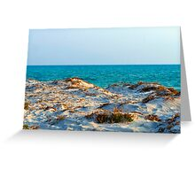 Over the Sand Dune Greeting Card