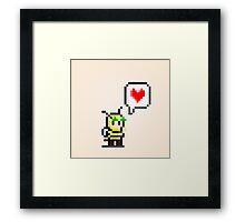 Bumblebee Love Framed Print