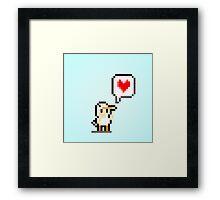 Ducky Love Framed Print