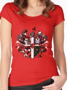Criminal Coat of Arms Women's Fitted Scoop T-Shirt