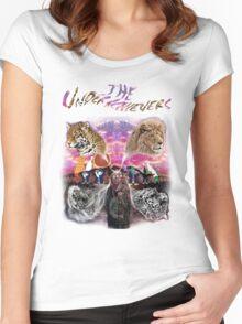Celar Door Underachievers Women's Fitted Scoop T-Shirt