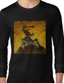 Doom Cyberdemon Riding Spider Long Sleeve T-Shirt