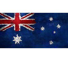 Australia - Magnaen Flag Collection 2013 Photographic Print