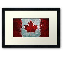 Canada - Magnaen Flag Collection 2013 Framed Print