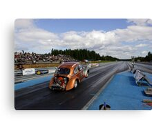 Dragracing #9 Canvas Print
