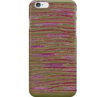 Pink stripes iPhone Case/Skin