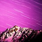 Star Trails in the Tien Shan by BH Neely