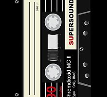 Audio Cassette Mix Tape Retro iPad Case / iPhone 5 Case / iPhone 4 Case  / Samsung Galaxy Cases  by CroDesign