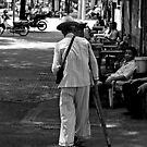 Saigon man by geof