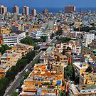 Tel Aviv Eagle Eye City View by Ronsho