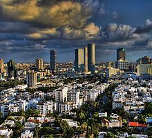 Tel Aviv Heliport shadowing by Ronsho