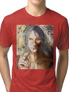 LILIUM: God Is Dead Tri-blend T-Shirt