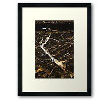Paris Street Lights Framed Print
