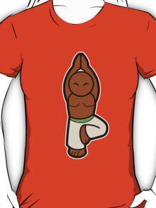 Vrksasana (Tree posture) T-Shirt