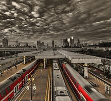 Tel Aviv central railway station by Ronsho