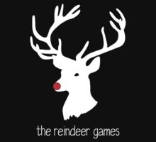 The Reindeer Games (white) Kids Clothes