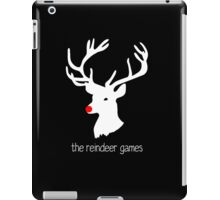 The Reindeer Games (white) iPad Case/Skin