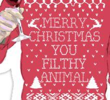 A Very Hannibal Christmas  Sticker