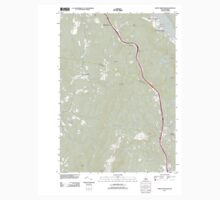USGS TOPO Map New Hampshire NH North Grantham 20120508 TM One Piece - Short Sleeve