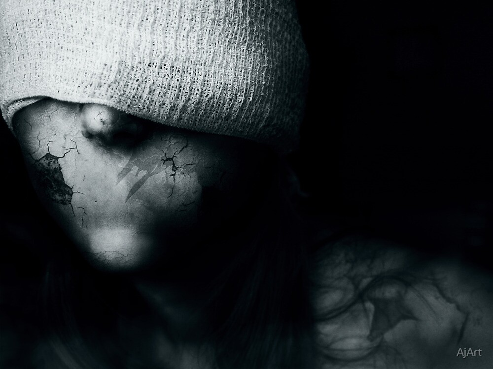 Silence. by AjArt