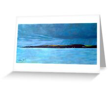 Ballycotton, Rain and Shine - Cork Greeting Card