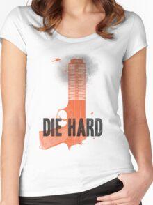 Die Hard Women's Fitted Scoop T-Shirt