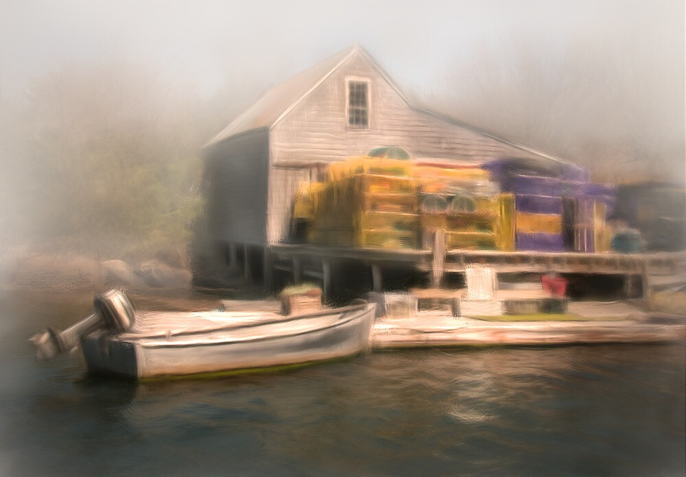 Cozy Harbor #5 by Dave  Higgins