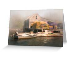 Cozy Harbor #5 Greeting Card