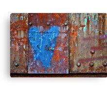 When Rust Loves You Back Canvas Print
