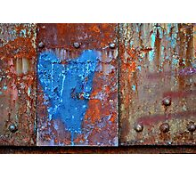 When Rust Loves You Back Photographic Print