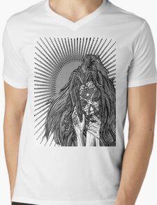 Shh Mens V-Neck T-Shirt